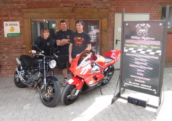 Der VD Motorradcervice