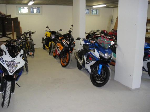 Die Saison ist vorbei und viele Böcke gehen in die Garage.