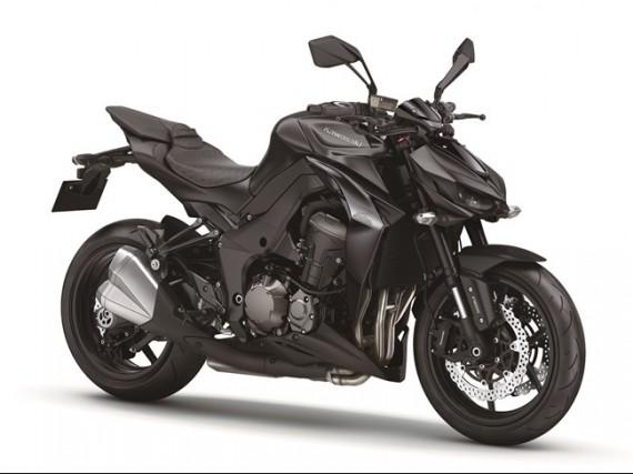 In schwarz wirkt die neue Kawasaki  Z 1000 schon echt brachial!