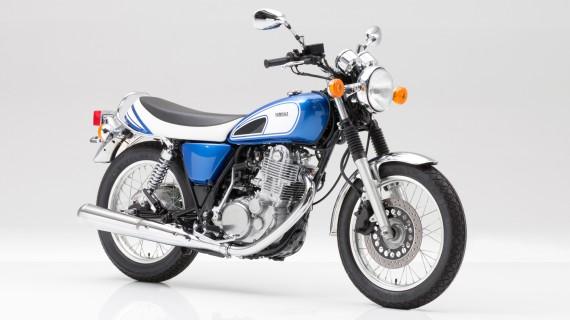 Die Yamaha SR 400 im Modern-Retro-Look.