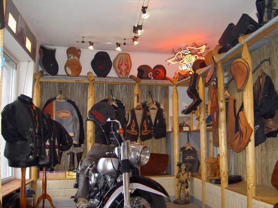 Der Store von Theobalds Leatherwork!