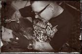 Der Tattoo-Artist beim Job!