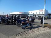 Das schöne Wetter lokte etliche Biker.