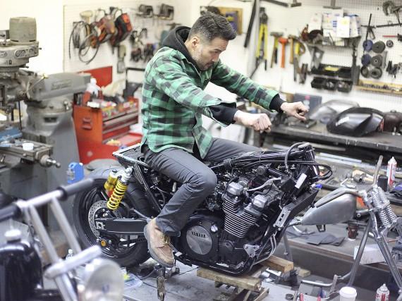Keino Sanaki ist für das Projekt am Start.