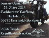 Season-Open-Party vom biker-Stammtisch Bockhorst.