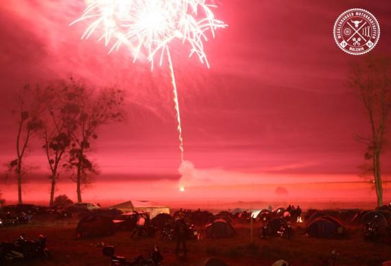 Logen gibt es auczh ein tolles Feuerwerk!