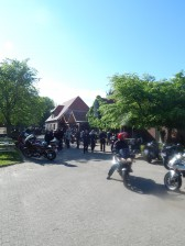 Zur Schanze ist ein beliebter Treff von Motorrad-Fahrern!