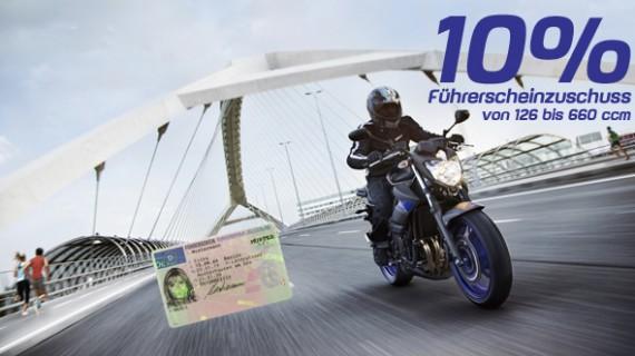 10% haut Yamaha als Zuschuss für die Pappe raus!