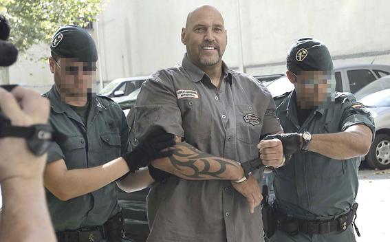 Für die mallorcinischen Medien war die Verhaftung ein Spektakel, an dem sie sich fot-technisch ergötzt haben.