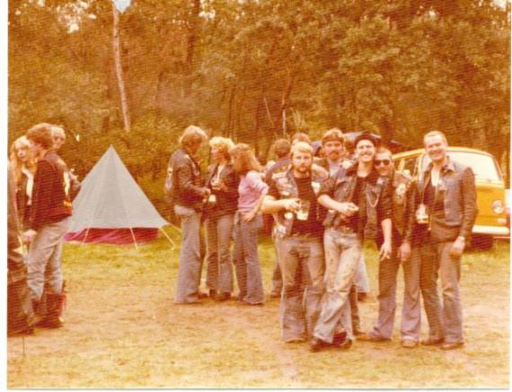 1977 auf einer Party bei den Ghostridern in Holland!