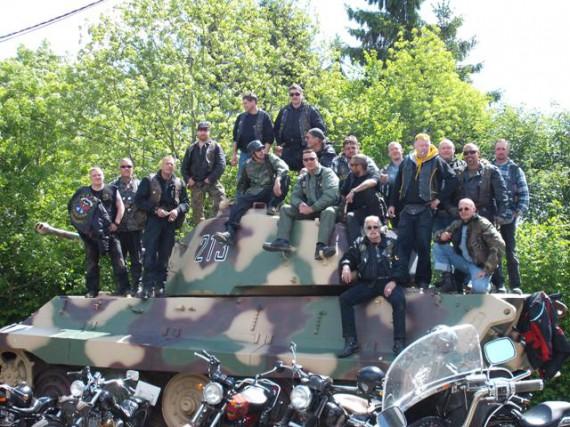 Ein Bild mit Symbol-Charakter? Der Toros MC bei iner Ausfahrt 2009.e