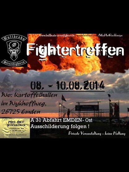 Beim 3.Streetfighter-Treffen der Bullheads wird wieder der Acker brennen!