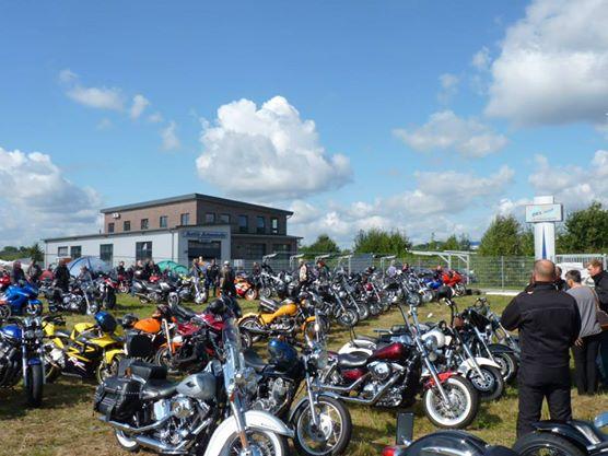 Leider war der Parkplatz Bikes nur selten so voll!
