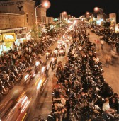 Die Sturgis Motorcycle Rally findet an jedem ersten August-Weekend statt.
