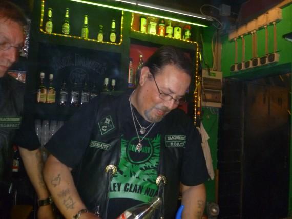 Black Green North supportet den Harley Clan North!