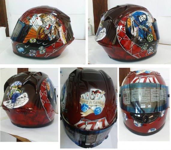 Helme sind ein Schwerpunkt in Stefans Wirken!