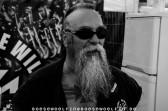 Lommel ist einer der drei Protagonisten der Rocker-Lesung XXL auf der CUSTOMBIKE!