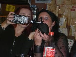 Lass laufen Baby. Karins ureigenes Whiskey-Tasting! GRRRR.......