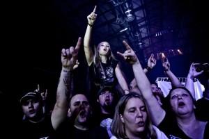 Die Fans von Veritas Maximus sinf bekannt für ihre Euphorie.