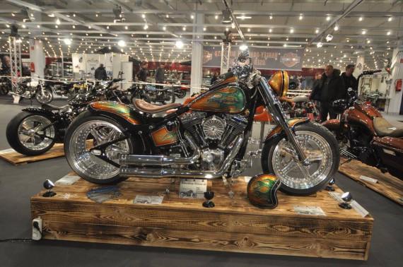 Diese Harley Davidson FLSTF FAT BOY Bj 2011 103 CUI hatte mich angefixt!