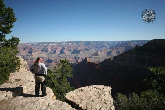 Der Blick in den Grand Canyon gehört garantiert zu den absoluten Highlights!