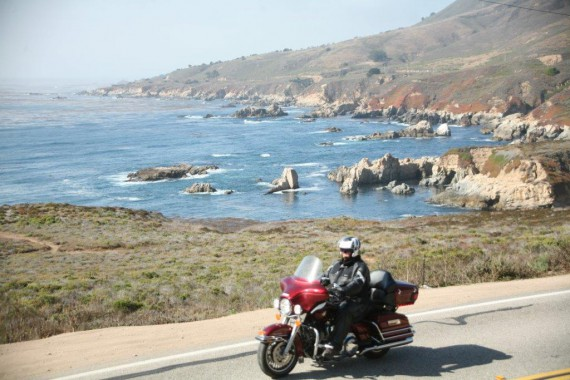Der Pacific Coast Highway 1 ist ein El Dorado für Biker!