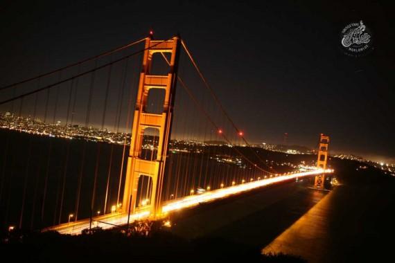 Die Golden Gate Brücke in San Fransisco!