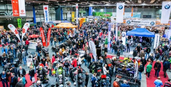 Die Motorrad-Show Oldenburg erwartet erneut ein volles Haus!