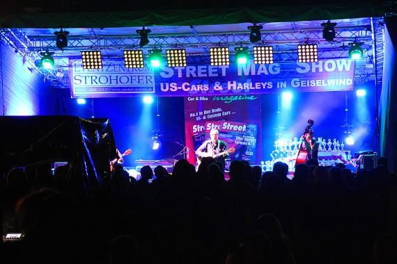 Natürlich bietet die Street Mag Show reichlich Live-Musik!