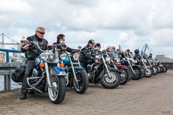 Die Hanse-biker sind eine Interessengemeinschaft von Chooper- und Cruiser-Fahrern!