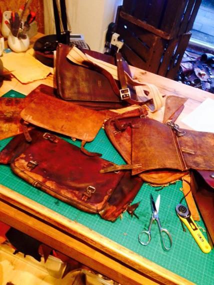 Michel entdeckte 2013 seine Faszination für Leder!