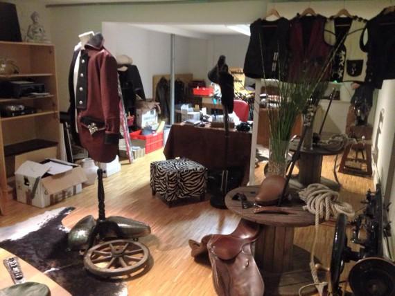 Der Showroom mit Werkstatt auf St. Pauli!