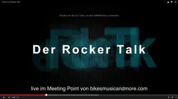 Mit großer spannung erwarten wir die Reaktionen auf den ersten Rocker-Talk - live bei uns im Point.