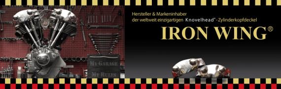 Die Markenrechte des Knovelhead liegen bei Iron Wing in Bremerhaven!