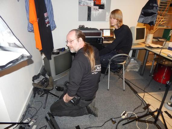 Das J.U.G-Team und V-Technik Bremen in Aktion! Great Job!