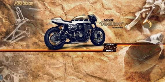 Cafe Racer erleben eine Rennaissance. Die XJR 1300 Dissident hat was.