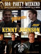 Kenny Johnson war als Stargast in Oberhausen dabei!