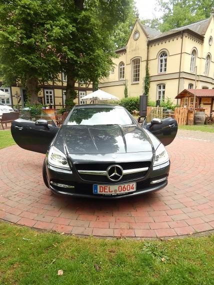 Das SLK Cabrio CDI Roadster macht echt was her!