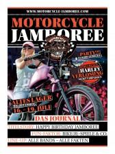 Dieses Jahr hat es eine Biker-Lady auf das Cover geschafft.