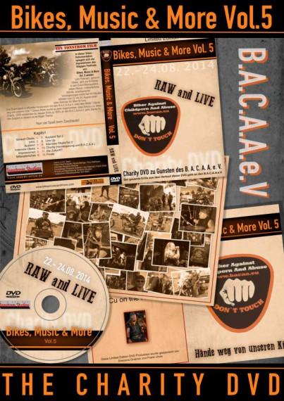 Das gesamte Konzeot zur Charity-DVD stammt vom J.U. G Team.