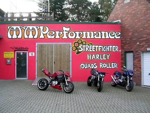 MM Performance befindet sich in Weyhe-Erichshof nahe Bremen.