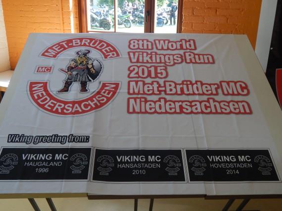 Der World Viking Run wächst. Der Biker-Code funktioniert vollends.