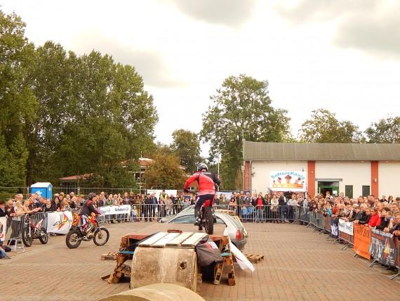 Die Bike-Show ist immer ein Publikumsmagnet. Das war heuer nicht anders!
