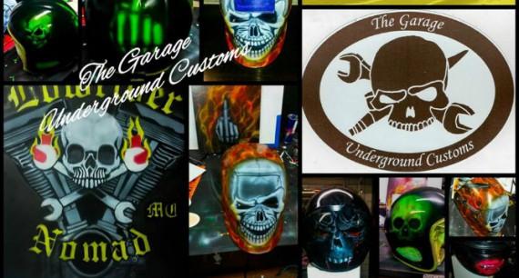 The Garage Underground Custom ist ein typisches Biker-Biz!