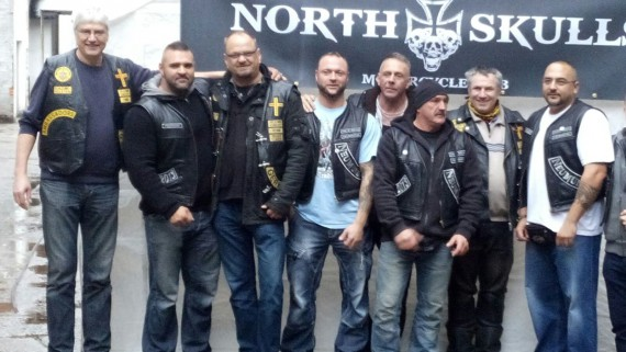 Der North Skulls MC öffnete erstmalig seine Pforten für ein Open House mit Benefiz-Aktion!