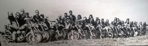 Ein Bild aus alten Tagen. In der 40jährigen Geschichte des Clubs gab es nur 5 Präsidenten!