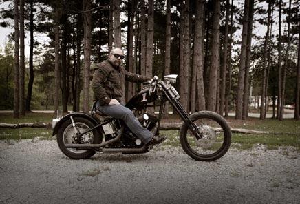 Sam Childers ist ein ehemaliges Mitglied eines Outlaw Motorcylce Clubs.