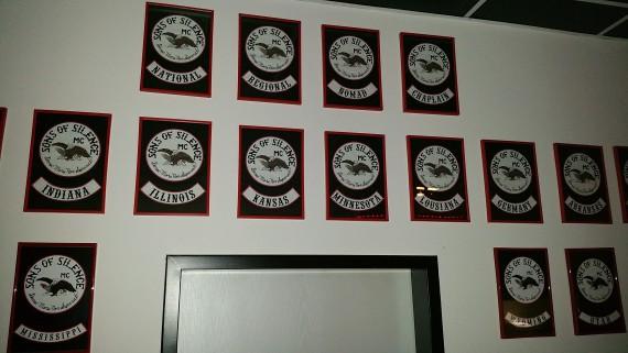 Der Aufbau des Sons of Silence MC USA, der sich als Family-Club definiert.
