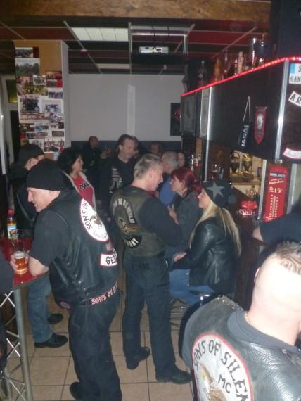 Der Sons of Silence MC Munich hat als einziger Club sein Klubhaus in der Stadt.