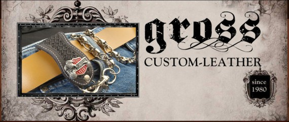Seit 1980 beackert Gross Custom-Leather das Material Leder!